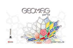 Klocki konstrukcyjne Geomag Pro - Panels 131 elementów