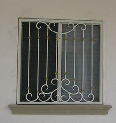 Window Grill Design Modern, Modern Fence Design, Window Design, Front Gate Design, Door Gate Design, Iron Window Grill, Burglar Bars, Door Grill, Window Bars
