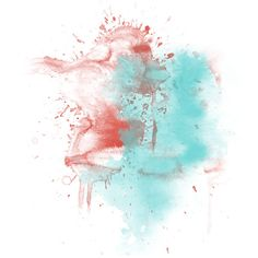 Watercolor Splashes ❤ liked on Polyvore featuring splashes, backgrounds, fillers, effects and decorative