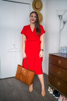 A Simple Office Look for the Work (and After!)