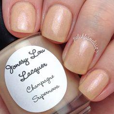 Jonesy Lou Lacquer Champagne Supernova