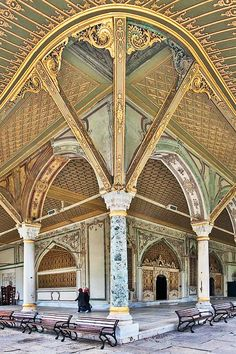 The Imperial Council building, Topkapi Palace, Istanbul, Turkey - travel Places Around The World, Oh The Places You'll Go, Places To Travel, Places To Visit, Around The Worlds, Travel Destinations, Architecture Antique, Islamic Architecture, Art And Architecture