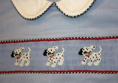 Creations By Michie` Blog: Smocked Puppies