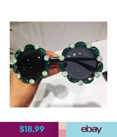 9320cc4550254 Sunglasses   Fashion Eyewear 2018 Fashion Women Sunglasses Luxury Crystal  Sunglasses Rhinestone Round Diamond  ebay  Fashion. Premier Group