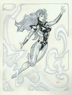 In my mind, Jean Grey will always be the Byrne era Phoenix.