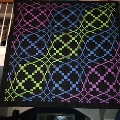 rolling waves quilt pattern - Google Search
