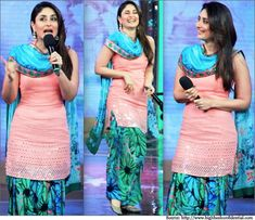 Beautiful Patiyala colour combination