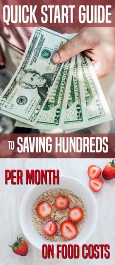 Food costs are probably one of your top 3 expenses. But they're also the most flexible. With a simple plan, you can save hundreds per month. What would you do with several hundred dollars more each month? #savemoney #savings #groceries.