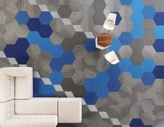 Shaw Contract Group Hexagon Carpet Tiles Could help with circulation paths