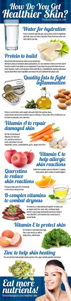 Vitamins and Nutrients Are Too Important - 7 Most Important Basic Skin Care Tips and Infographics
