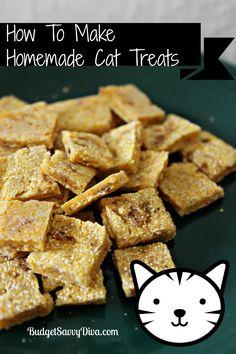 How To Make Homemade Cat Treats Recipe