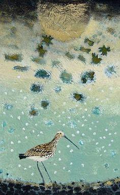 the art room plant: Ingebjorg Smith Wildlife Paintings, Landscape Paintings, Bird Illustration, Watercolor Bird, Pictures To Paint, Bird Art, Oeuvre D'art, Art Techniques, Rock Art