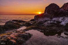 December sunset - Sunset Beautiful Sunset, Sunsets, Greece, December, Water, Outdoor, Dusk, Sunrises, Sun