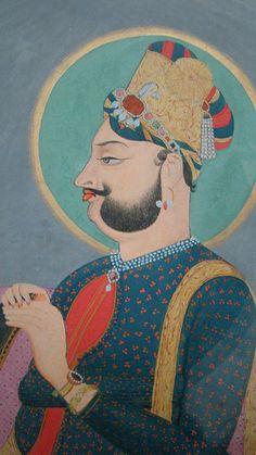 Jaipur India ~ Central Museum ~ Rajput Miniature Painting by Vasenka, via Flickr
