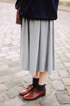 Love those shoes! And the whole comfy-ness of the outfit