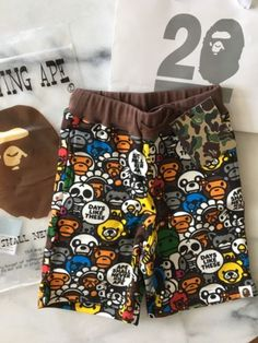 0ecd55ea8f3 Shorts 175655  A Bathing Ape Bape Kids Baby Milo Sweat Shorts Size 100 4T  Toddler Supreme -  BUY IT NOW ONLY   139.99 on eBay!