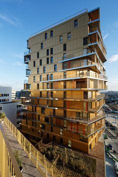 Housing in Paris / Hamonic + Masson & Associés + Comte Vollenweider