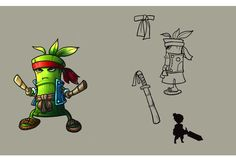 -Bamboo Warrior-   Skywind Heroes - Pet and Monster Artwork. Challenge, Fight and Catch Them Some monster can be capture and some are not #SWH #Faveo #artwork #art #MMORPG #Freeonlinegame #onlinegame #Webgames