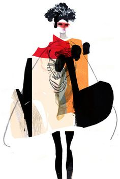 Daniel Egneus A collection of pieces from Illustration Example, Fashion Illustration Collage, People Illustration, Character Illustration, Pop Art Fashion, Fashion Collage, Mode Collage, Pop Art Drawing, Fashion Silhouette