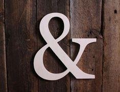 Unpainted Wooden Ampersand Typography- Wall / Home Decor / Wedding Photo Prop Diy Wedding Cake, Diy Wedding Decorations, Chic Wedding, Wedding Signs, Decor Wedding, Trendy Wedding, Wedding Photo Walls, Wedding Photo Props, Wedding Photos
