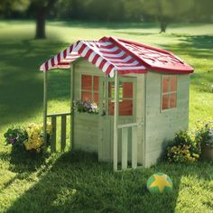 Create 'A Summer of Memories' with  your child with this Red Roof Wooden Play Cottage. Learn more about our A Summer of Memories Sweepstakes here> www.countrydoor.com/pinterestsweeps