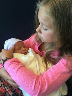 Weslie with her brother Maddox