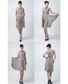 Set of 4 short Infinity Bridesmaid dresses