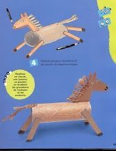 Paard knutselen stap voor stap Toddler Preschool, Toddler Crafts, Preschool Crafts, Fun Crafts, Animal Crafts For Kids, Diy For Kids, Superhero Headbands, Sunday School Crafts For Kids, Kindergarten Projects