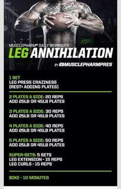 Leg annihilation