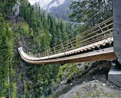 Step Ladder Bridge, Switzerland
