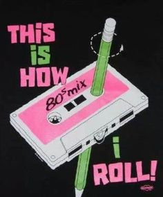 How we rewound a loose cassette tape in the 80's!