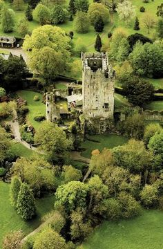 Blarney Castle, Ireland (by One, via Indulgy)