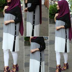 Hijab Style Dress, Modest Fashion Hijab, Modern Hijab Fashion, Muslim Women Fashion, Street Hijab Fashion, Modesty Fashion, Hijab Chic, Teen Fashion Outfits, Hijab Outfit