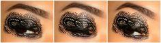 #makeupbee Lace Eyes http://www.makeupbee.com/look_Lace-Eyes_33392