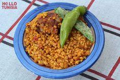 Tunisian Borghol - steamed Wheat
