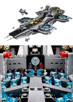 Good news, Marvel fans! The S.H.I.E.L.D Lego set is here!