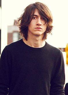 Image result for alex turner long hair