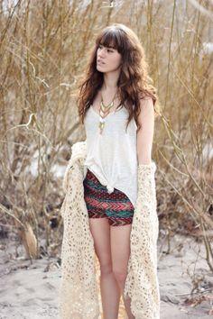 #UOonYou stylist Tonya (themoptop on IG) in dreamy layers. #urbanoutfitters