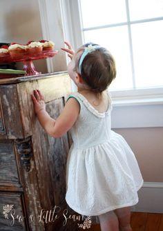 Gratis kjole Mønster og opplæring