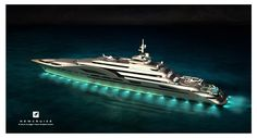 """Truely a World on its own, the 180m """"My World""""  Concept by Newcruise - Yacht Projects & Design"""