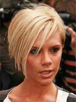 Victoria Beckham with Short Hair
