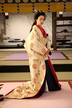 Edo Era, Kosode Kimono used in the Ooku, Shogun's Palace Ladies Kimono 大奥 ~永遠~ [右衛門佐・綱吉篇]