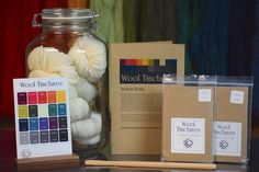 Wool Tinctures - Starter Kit Dyeing Yarn, The Enchantments, Starter Kit, Glass Jars, Wool, Projects, Log Projects, Glass Pitchers, Blue Prints