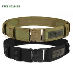 Cheap belt for sports, Buy Quality belt sport directly from China belt tactical molle Suppliers: FREE SOLDIER Outdoor Sport Tactical Belt Accessories For Camping Hiking Molle Belt nylon Waist Belt For Men Nylons, Tactical Belt, Tactical Knives, Military Belt, Fashion Leaders, Hard Wear, Everyday Carry, Plein Air, Mens Fashion