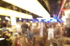 moving lights at BK Bazaar Nov. 8, 2013