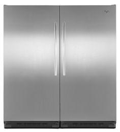 Whirlpool® Sidekicks® 18 cu. ft. All-Freezer with Adjustable Door Bins