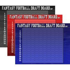 19 Best 2017 Fantasy Draft Boards images   Fantasy draft board