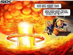 "Cagle Post » Steve Sack    ""Donald Da Bomb""    Posted: 07 Jun 2016 05:16 PM PDT"