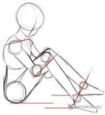 Картинки по запросу как нарисовать тело аниме