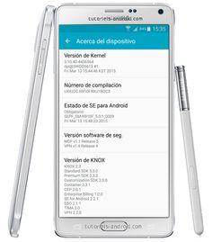 ROM Stock N910FXXU1BOC3 LP 5.0.1 pour GALAXY Note 4